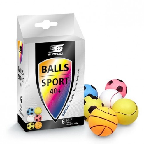 Sport FUN Tischtennisbälle 6 Stk.