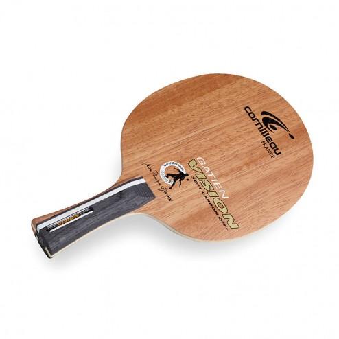 Holz Vision Pure Off+ Soft Carbon Tischtennisschläger