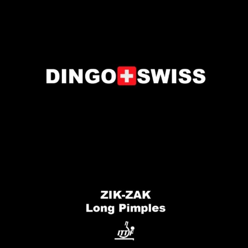 Tischtennis Schläger Belag Dingo Swiss Zik-Zak