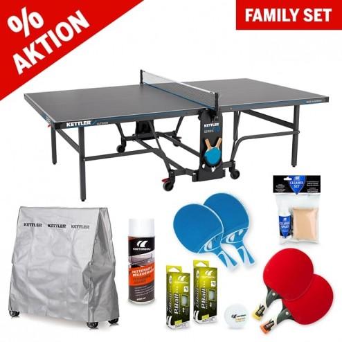 """Tischtennistisch Familien Set """"All in one"""" blau"""