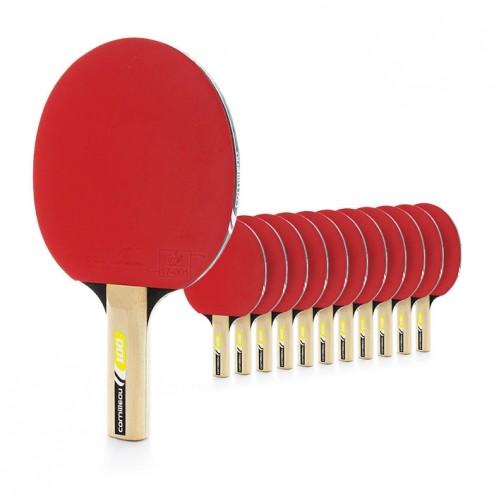 Günstiges Indoor Tischtennisschläger Set (12 Stück) für Schule