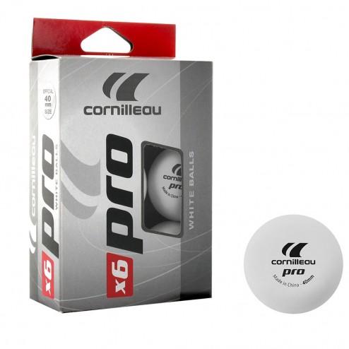 6 Cornilleau Pro Trainingsbälle