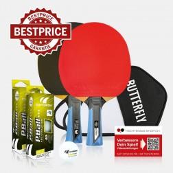 Tischtennisschläger Set Premium Butterfly