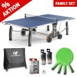 Tischtennistisch Familien Set Outdoor Ready to play