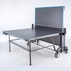 Alleinspiel auf Kettler Outdoor 6 Tischtennistisch