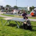 Massiver Tischtennistisch für öffentliche Plätze