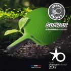 Outdoor Tischtennisschläger Softbat Cornilleau grün
