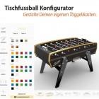 Tischfussball Konfigurator