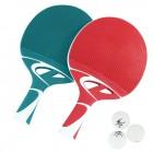Tischtennisschälger Seit inkl. 3 Bälle