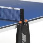 Tischtennisnetz montiert