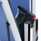 Stabile, rostfreie Rahmenkonstruktion aus verzinktem Stahl