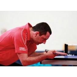 Tischtennis Lektion für Sportlehrer oder Schulklassen