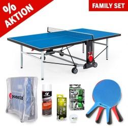 Tischtennistisch Familien Set Outdoor Ready to play+